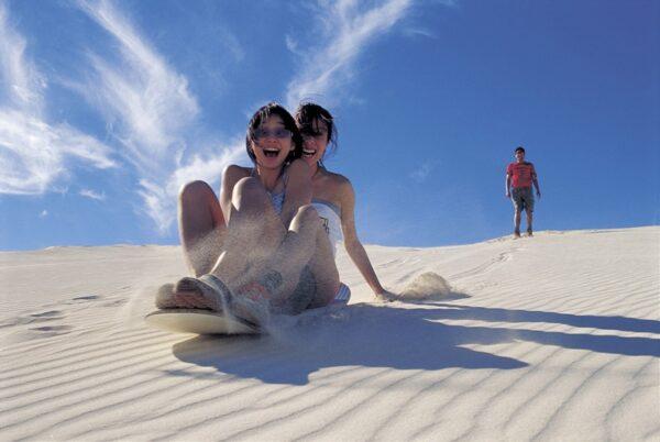 Adventure tours sand boarding