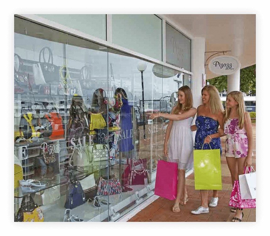 Dining and Shopping -