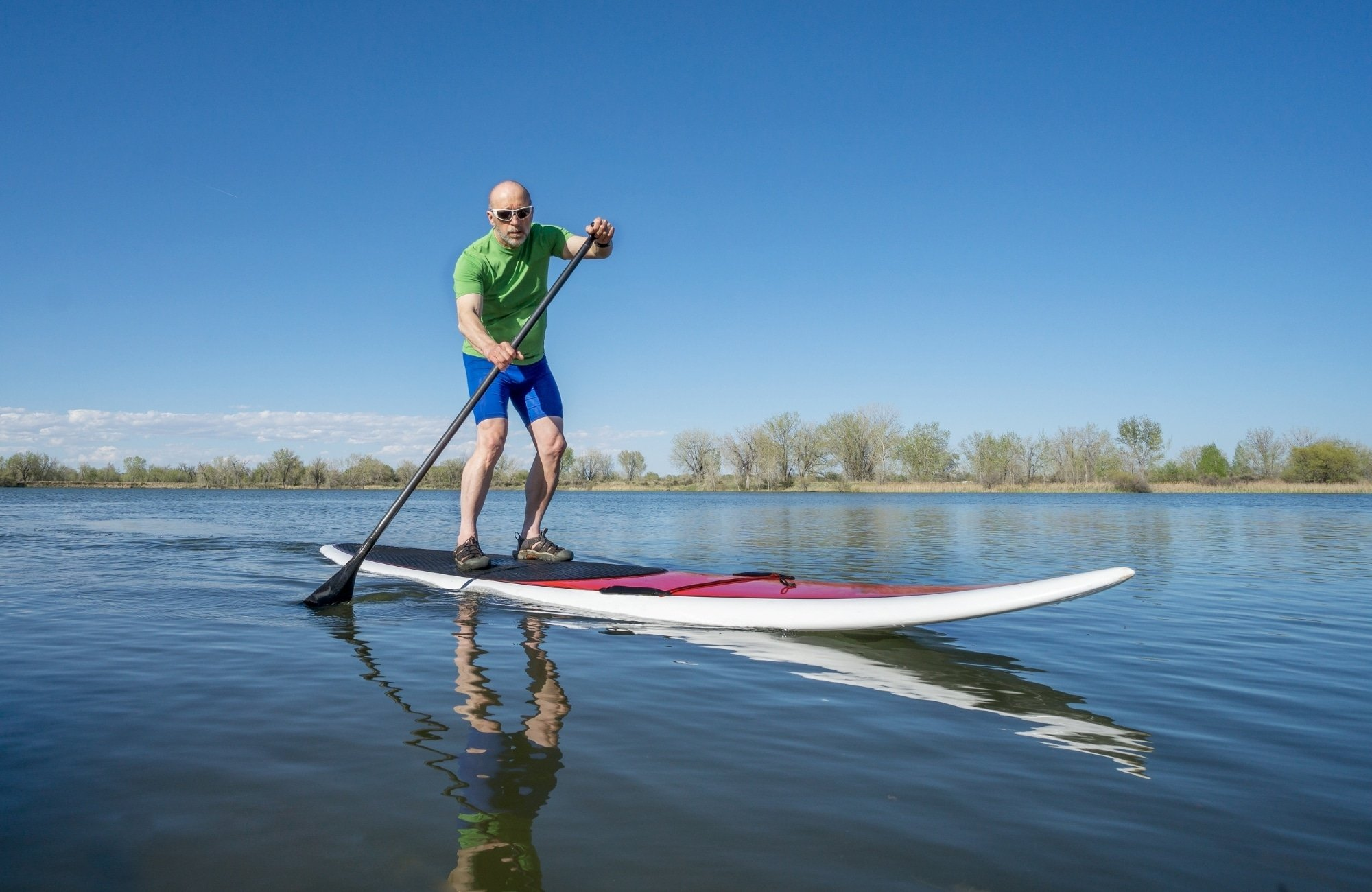 Enjoy some Stand-Up-Paddleboarding (SUP)