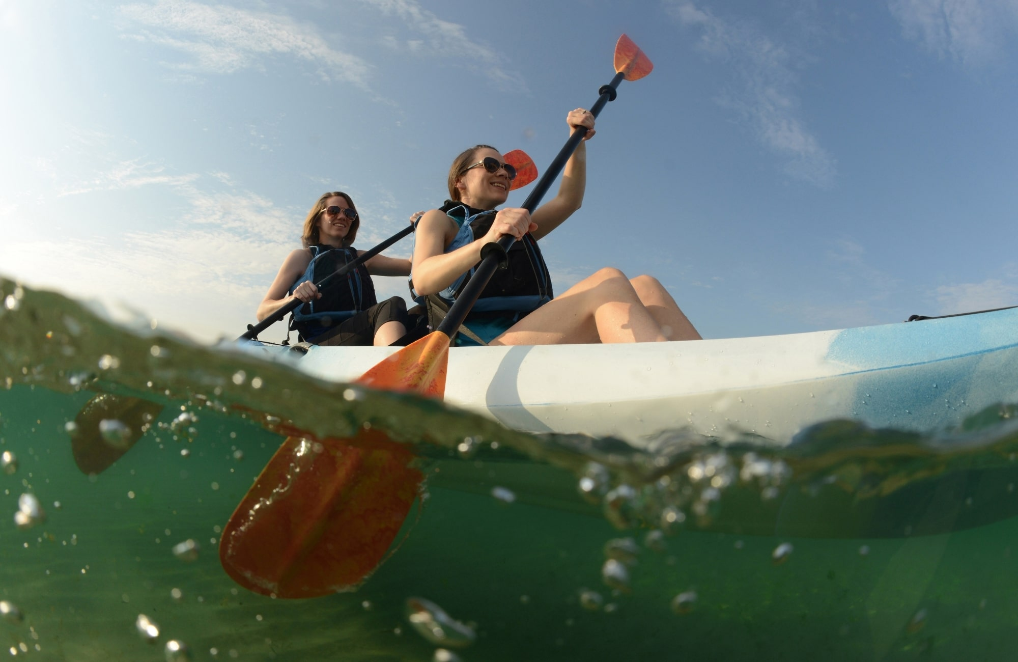 Explore the Port Stephens Marine Reserve in a Kayak